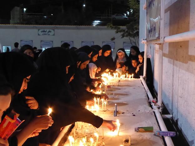 聖地のキャンドル~イラン Candles to Mourn,Iran