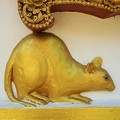 謹賀子年~タイ Golden Mouse,Chiang Rai