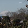 調布市からの富士山