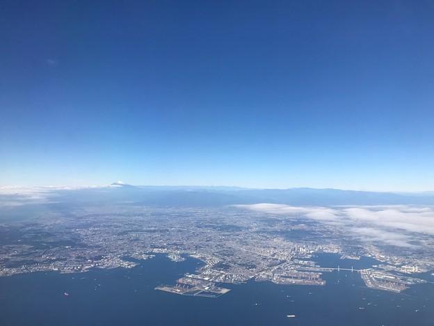 Photos: 東京湾上空