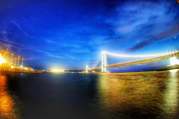 明石海峡大橋フィッシュアイ