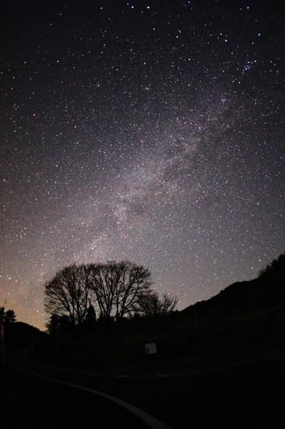 夜の砥峰高原