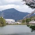 比叡山と宝ケ池