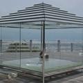 写真: 将軍塚 青龍殿 ガラスの茶室 2