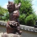 逆立ち~狛犬(阿形)