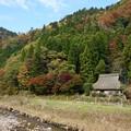 写真: 山里の秋