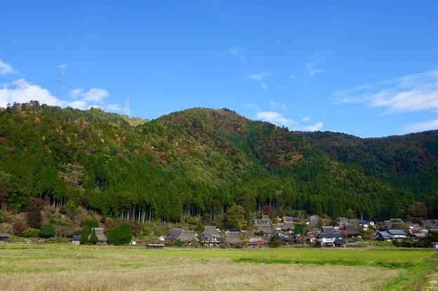 写真: 美山「かやぶきの里」