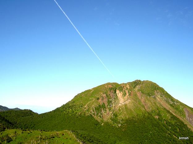 快晴の日光白根山