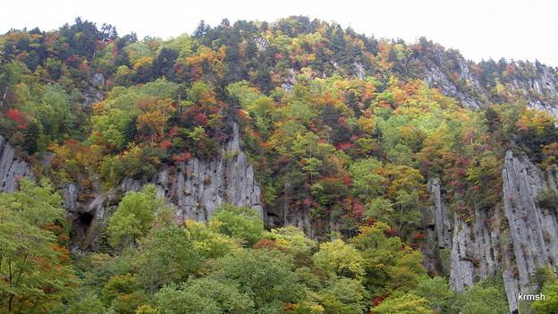 北海道・層雲峡の紅葉