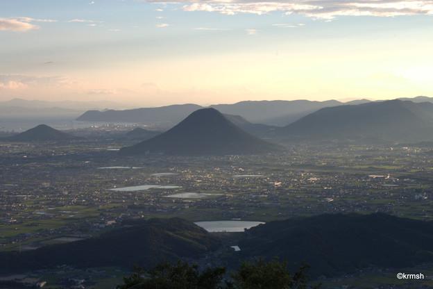 Photos: 讃岐富士(日の出37分後)