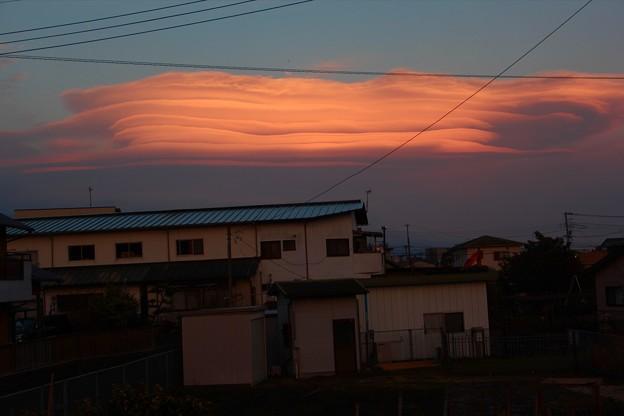 3月15日富士宮からの吊るし雲! もっと良い場所で撮影したかった^_^;
