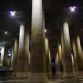 写真: 首都圏外郭放水路 庄和排水機場 調圧水槽 31102013