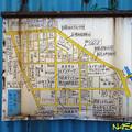 Photos: 町内商工案内地図(地域町内案内図標識板) 05022020