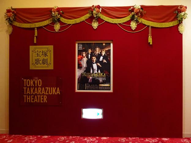 本日は何故か東京宝塚劇場  雪組公演『ONCE UPON A TIME IN AMERICA』 26022020