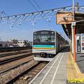 南武支線浜川崎行 尻手駅にて 1302021