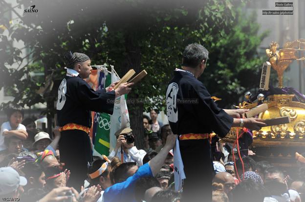 神田祭 神輿宮入