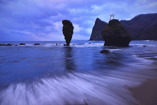 えびす岩・大黒岩/ 北海道。