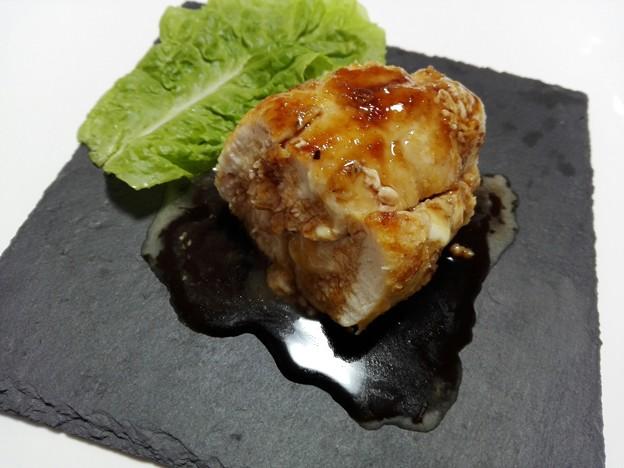 鶏胸肉のチーズグリル焼き