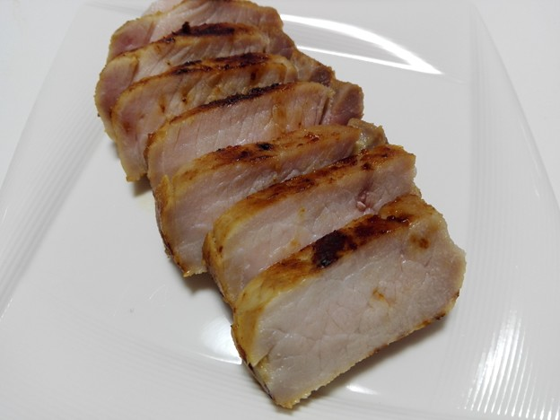 豚の味噌漬け焼き