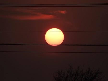 落陽03 太陽も天体