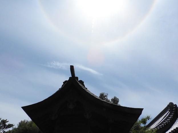 太宰府天満宮11 厳島社と日輪