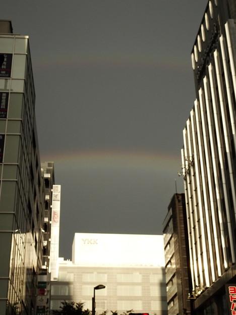 2つの虹(8月)