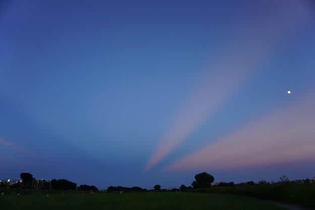 Photos: 反薄明光線、かしら?