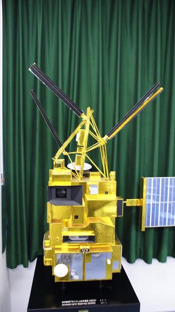 地球観測プラットフォーム技術衛星「みどり」 模型