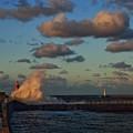 写真: 海王丸パークの夕景03