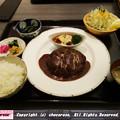 写真: 神戸牛デミグラスハンバーグ