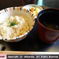 炊き込みご飯-香の物-味噌汁