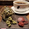 写真: アマンドショコラ、抹茶のロッシェ、ボンボンショコラ、70%クーベルチュール