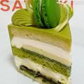 写真: 新edo大納言ショートケーキ斜めの図