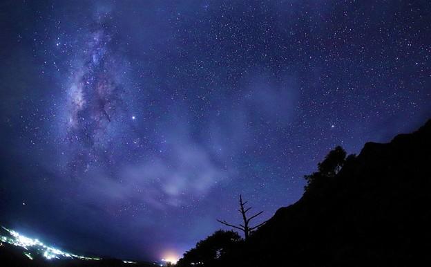 屋久島の銀河
