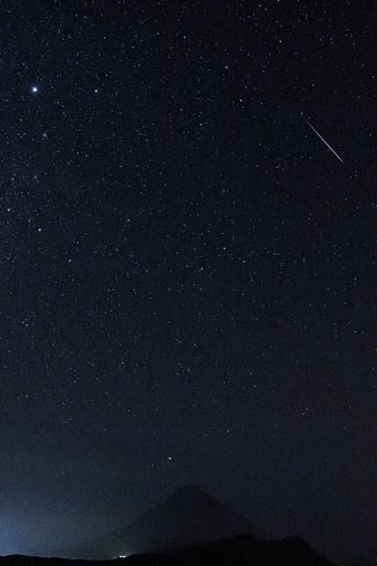 カノープス シリウス 流星