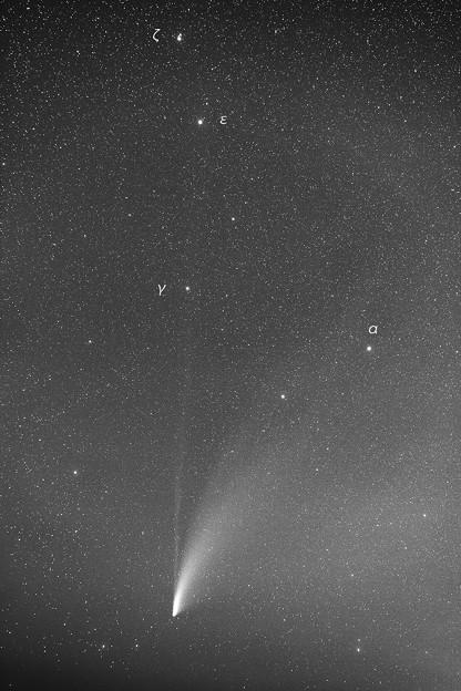 ネオワイズ彗星 7月22日 2