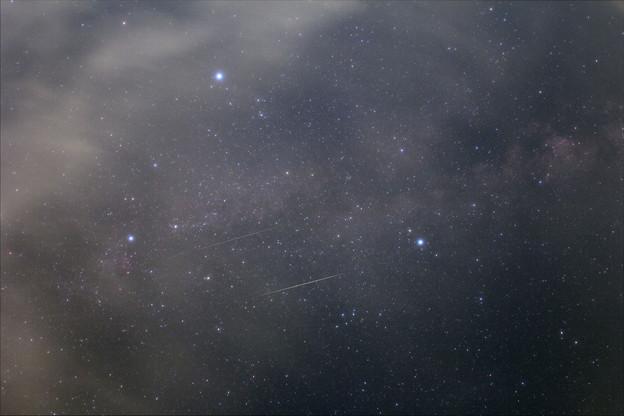 ペルセウス座流星群2020