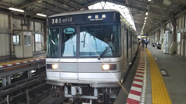 東京メトロ日比谷線03-112f!チョッパ車、南千住発車