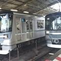 写真: 東京メトロ13000系の並びです!