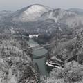 写真: 奥会津の冬