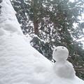誰かが作った雪だるま(2)