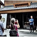 Photos: 和風造りのスタバ