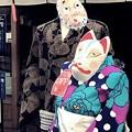 写真: 変なカップル