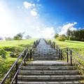 写真: 天国への階段