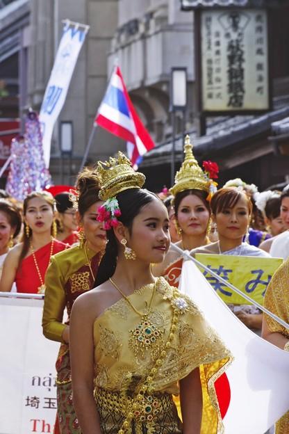 川越唐人揃いパレード (2)