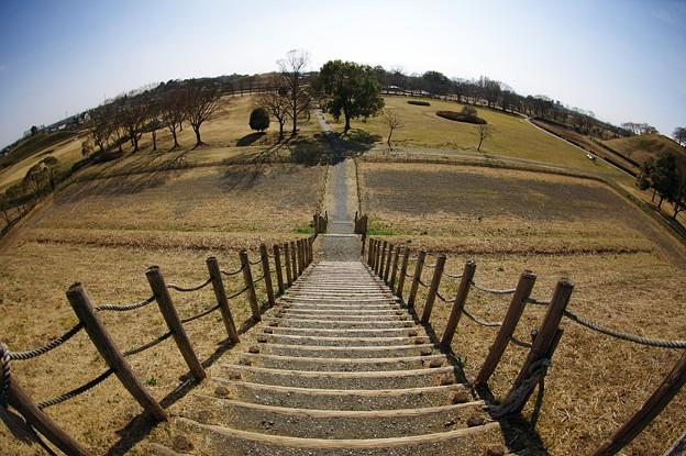 外界への階段