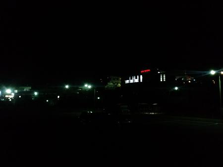 田舎の夜景(笑