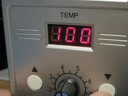 温度設定1