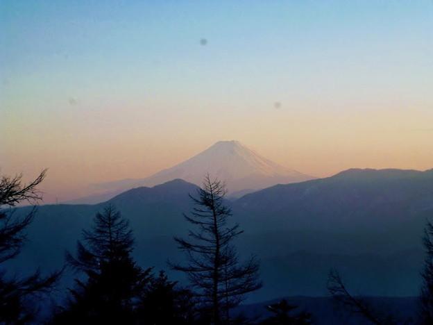 富士山(夕)