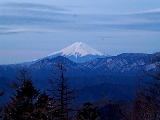 富士山(明け方)